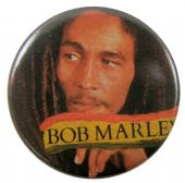 Bob Marley - 'Side Look' Button Badge
